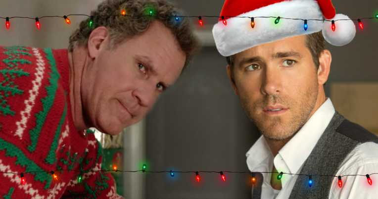 Ryan Reynolds dan Will Ferrell-xmas